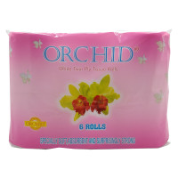 Orchid Bathroom Tissue 2ply 6Rolls