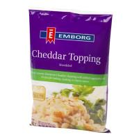 Emborg Cheddar Topping Shredded 200g