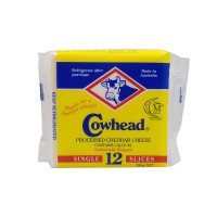 Cowhead Processed Cheddar Cheese Contains Calcium 250g