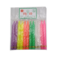 Sun & Moon Candle Color 12pcs 4.5inch