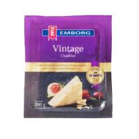 Emborg Cheddar Vintage Portion 200g