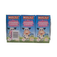 Marigold Strawberry Flavored Milk 200ml*3