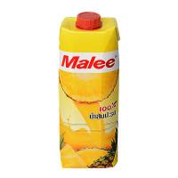 Malee 100% Fruit Juice Pineapple 1Litre