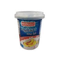 Marigold Yoghurt Low Fat Peach  130g