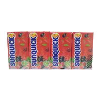 SUNQUICK  BERRIES Fruity and Refreshing 125ml*4