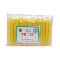 Sun & Moon Candle Yellow 50pcs 2.5inch