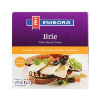 Emborg Brie Cheese 125g