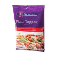 Emborg Pizza Topping Cheese 200g