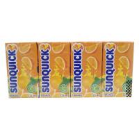 SUNQUICK Orange Fruity and Refreshing 125ml*4