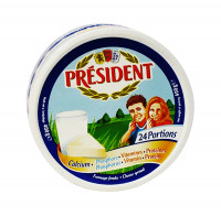 President Processed Cheese 50FDM 24Portion 400g