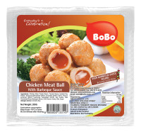 BOBO Chicken Meat Ball with BBQ Sauce 200g